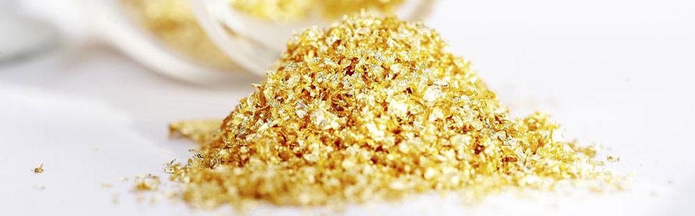 золото для десертов